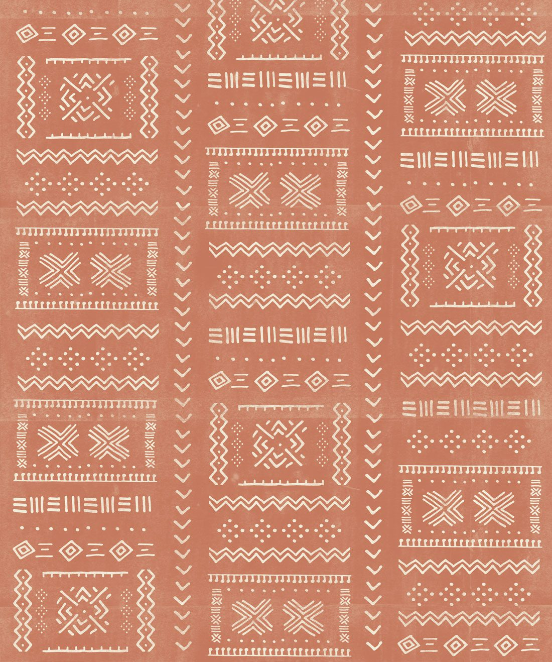 Tribal Mud Terracotta