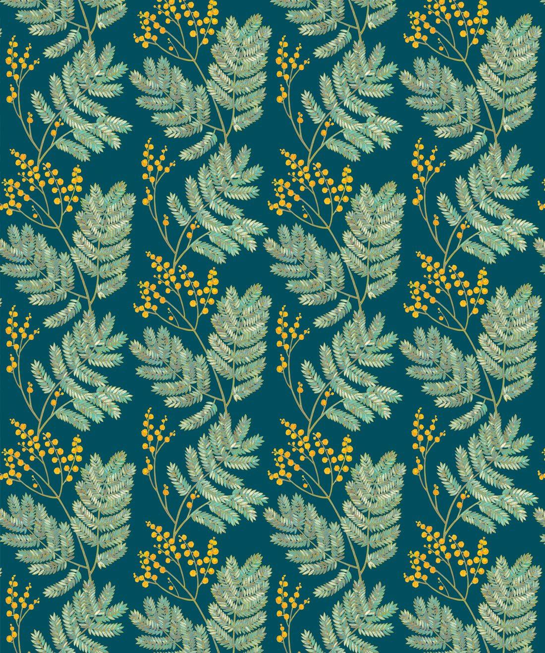 Mimosa Wattle Green