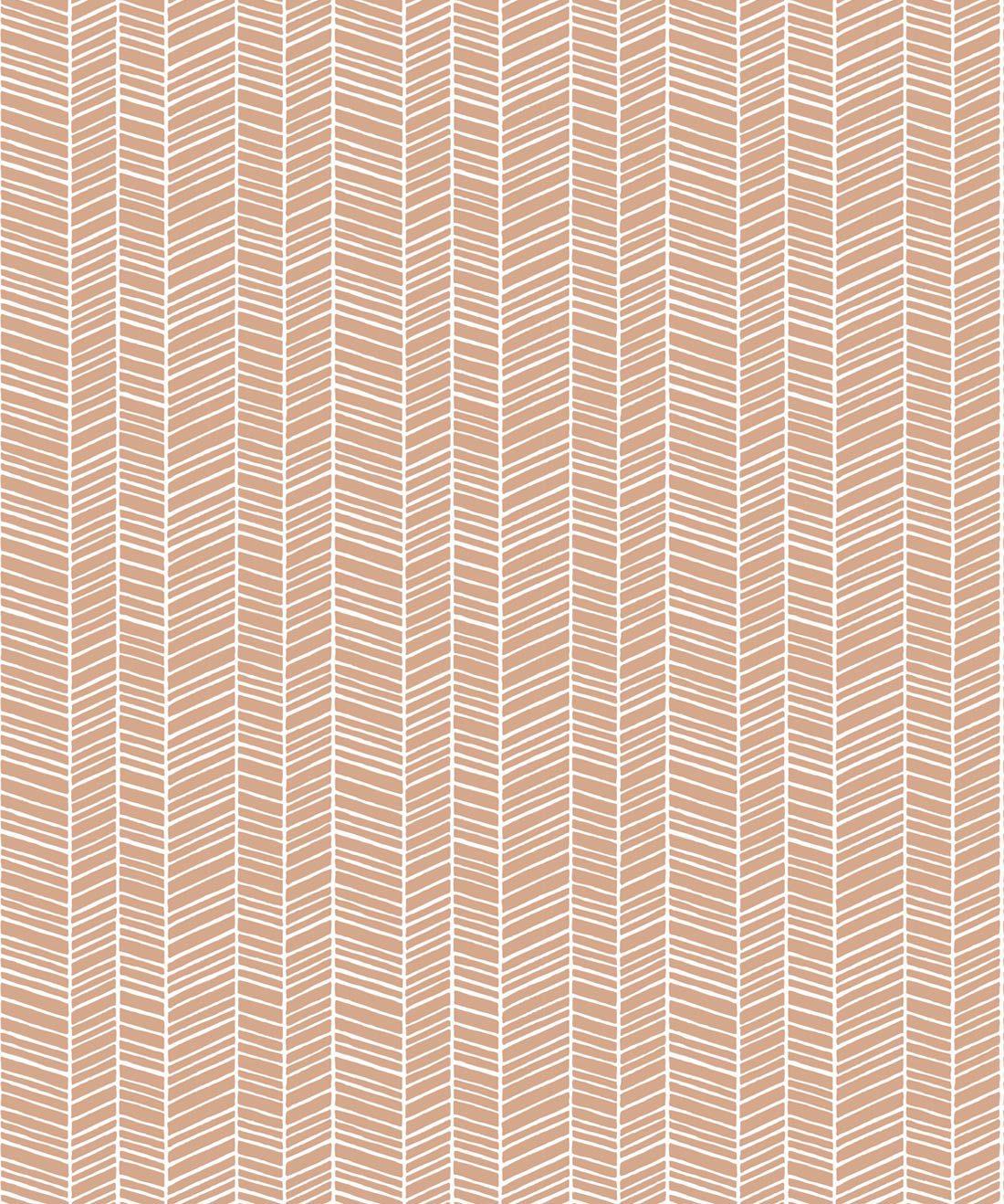 Herringbone Desert Wallpaper