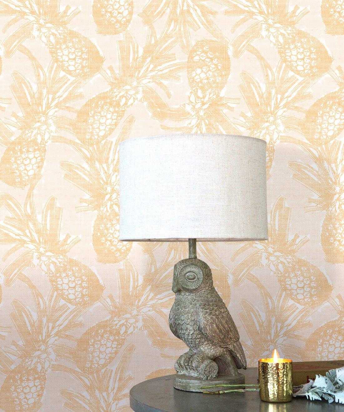 Calypso Wallpaper • Pineapple Wallpaper
