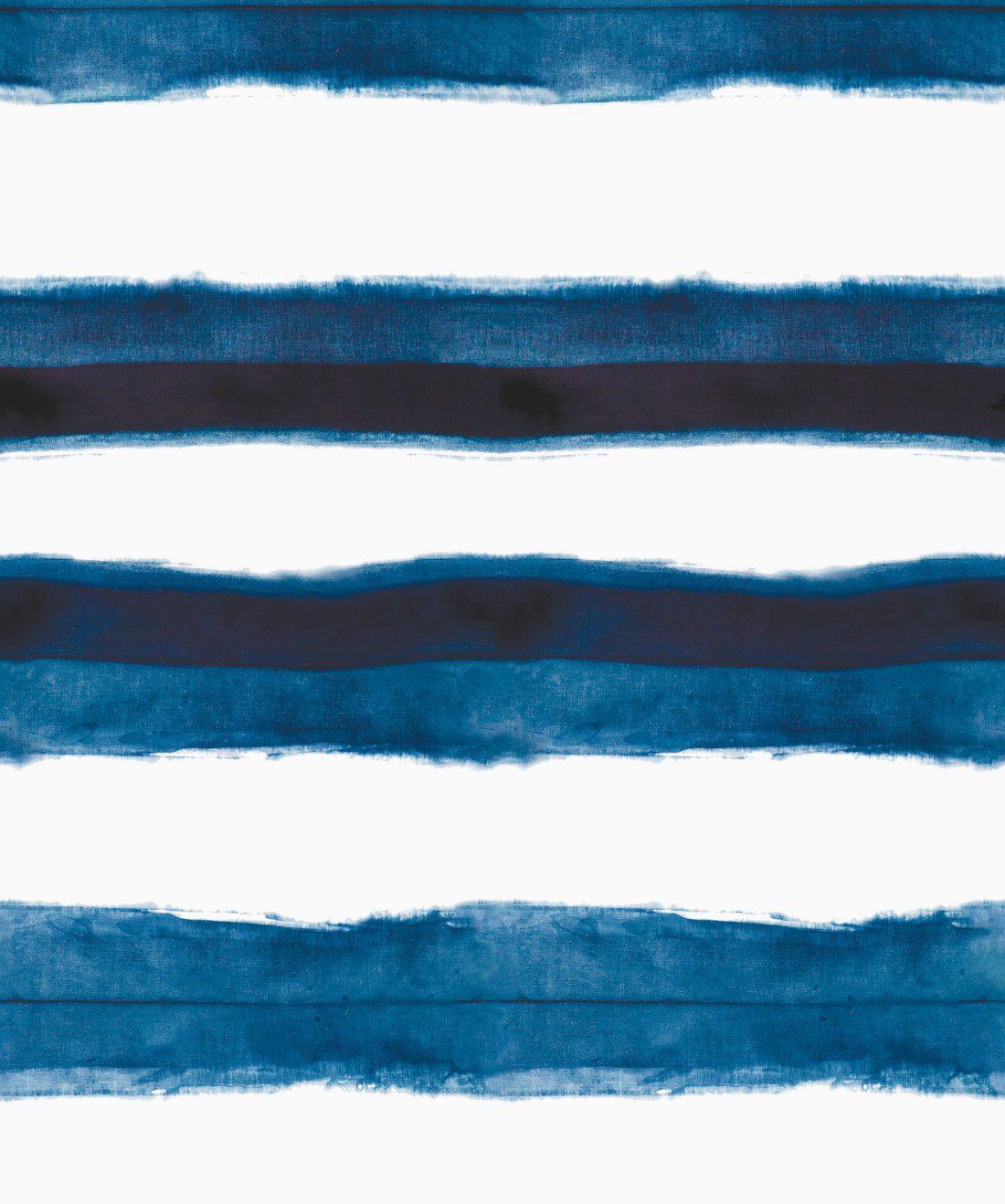 Shibori Stripe Aleutian Wallpaper