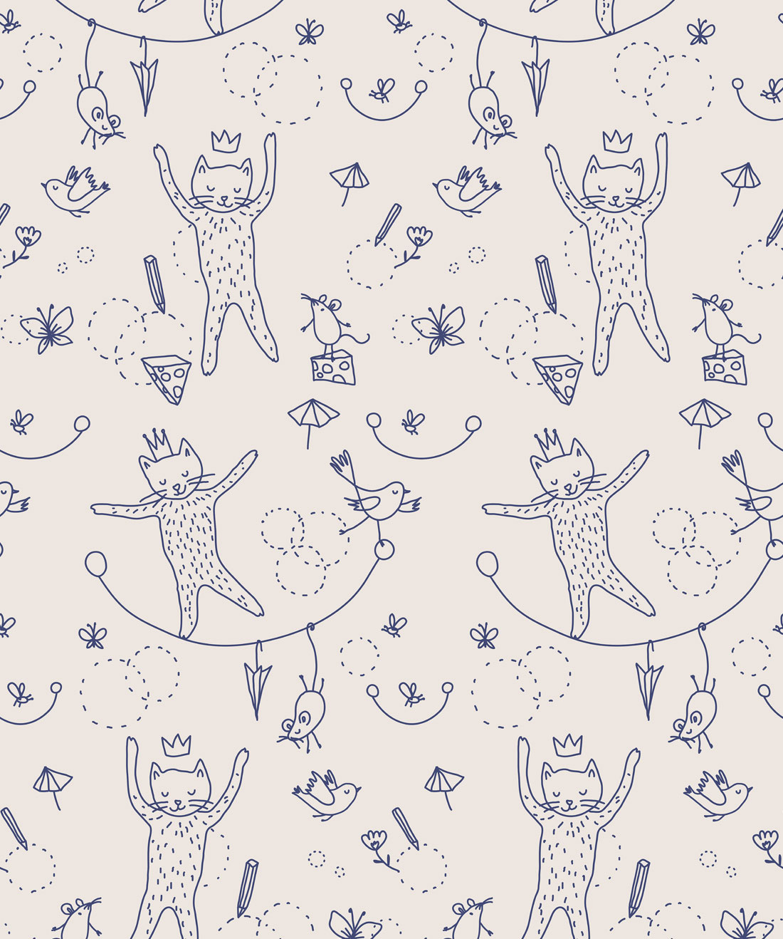 Mice & Cats Wallpaper