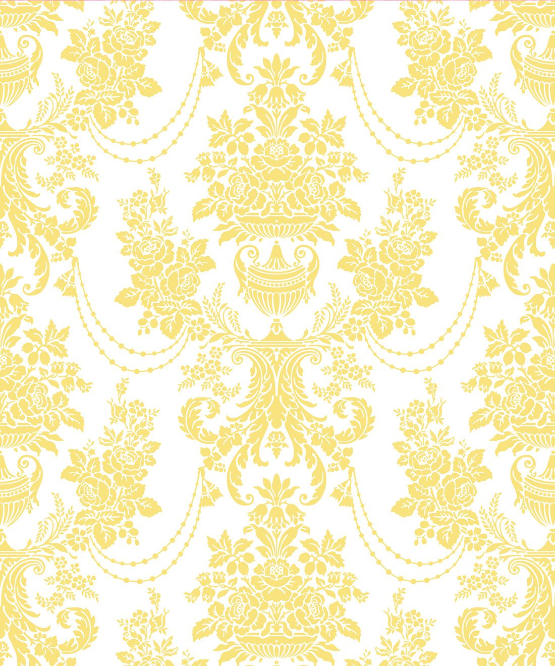 Imperial Wallpaper Yellow