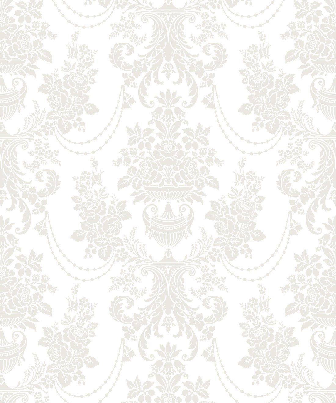 Imperial Wallpaper Whisper White