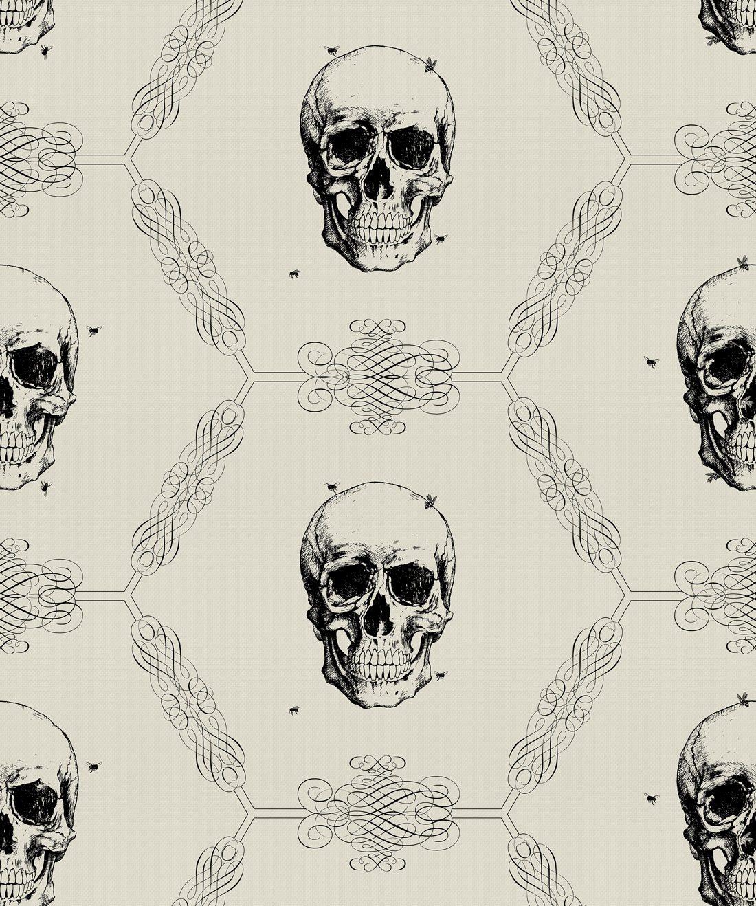 Skull & Bee Bone