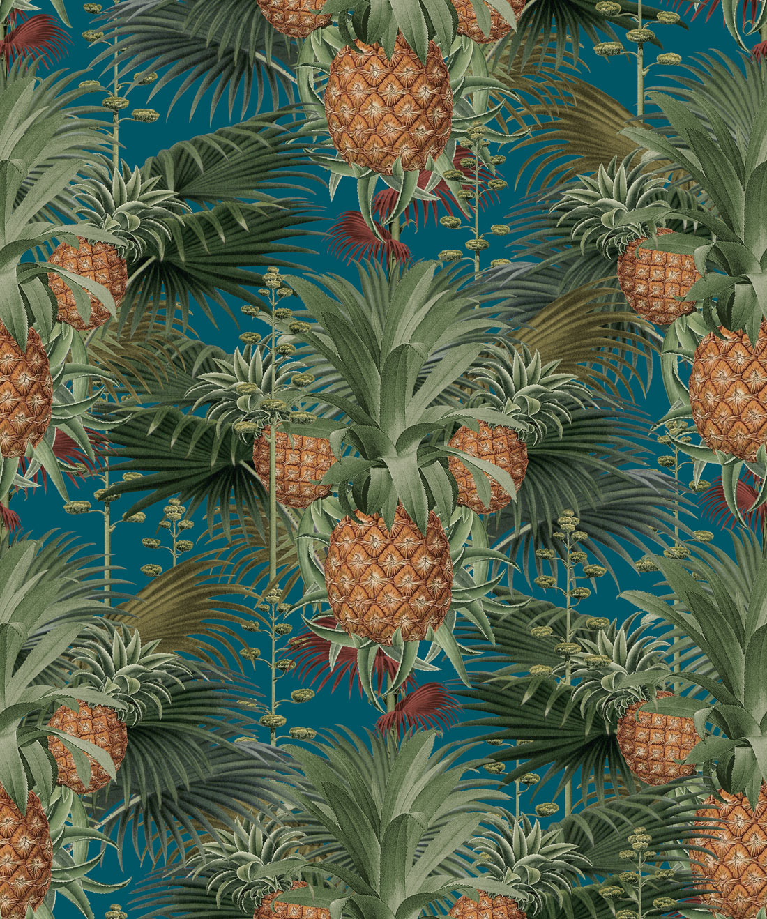 Pineapple Harvest Wallpaper