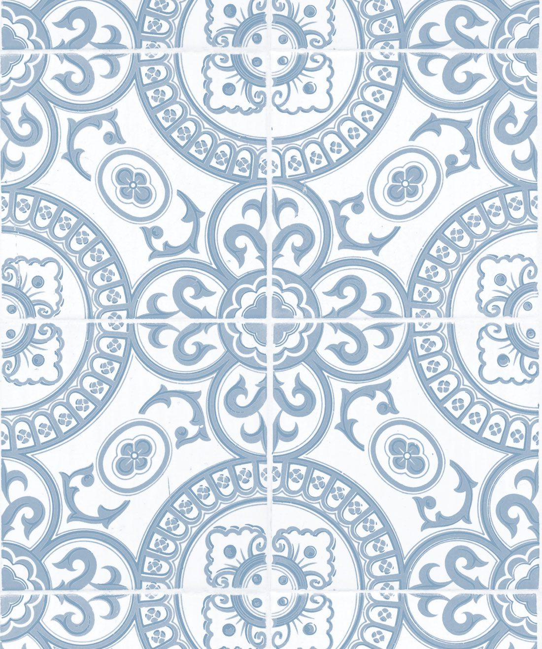 Heritage Tiles Pale Blue