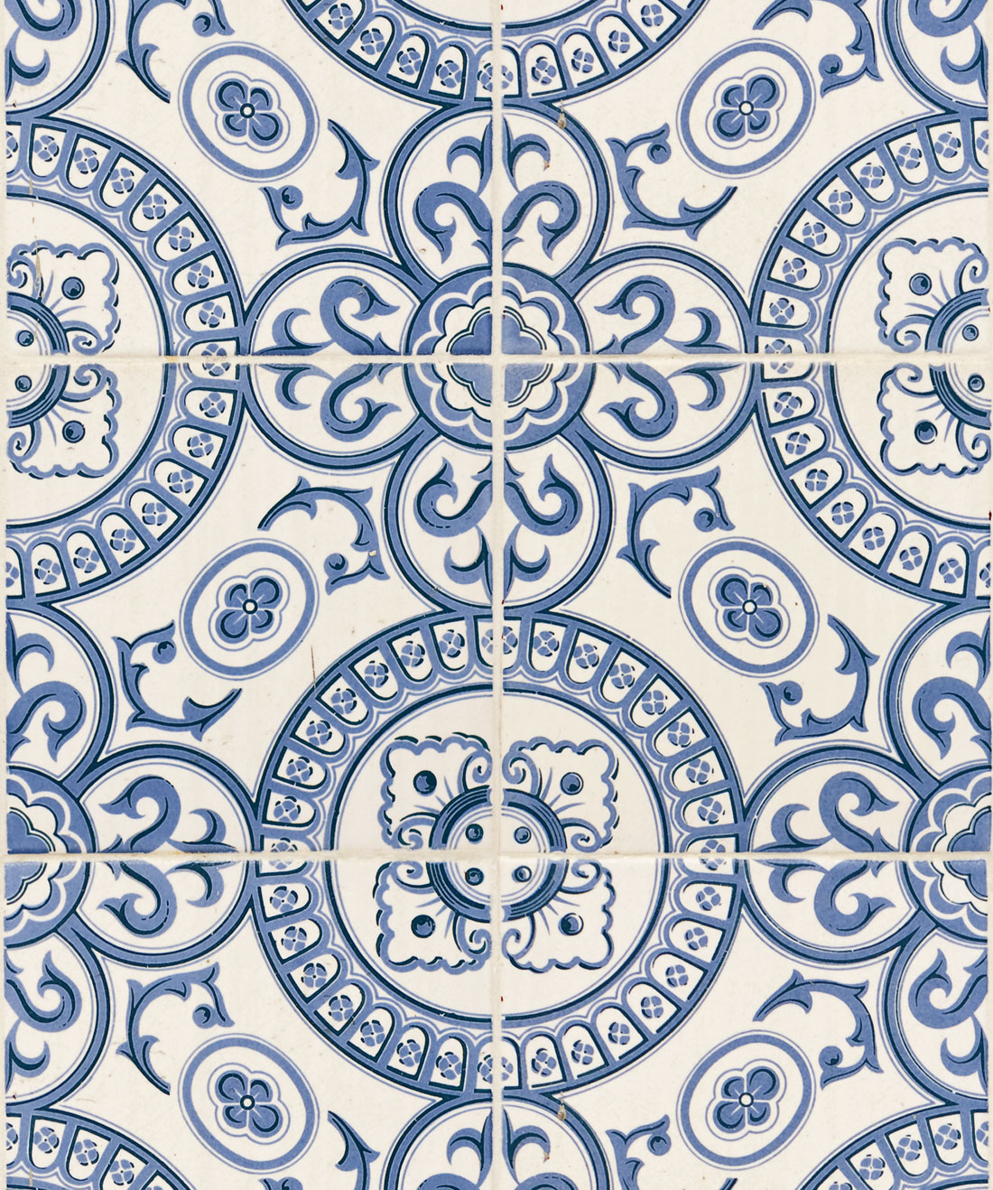Heritage Tiles Wallpaper
