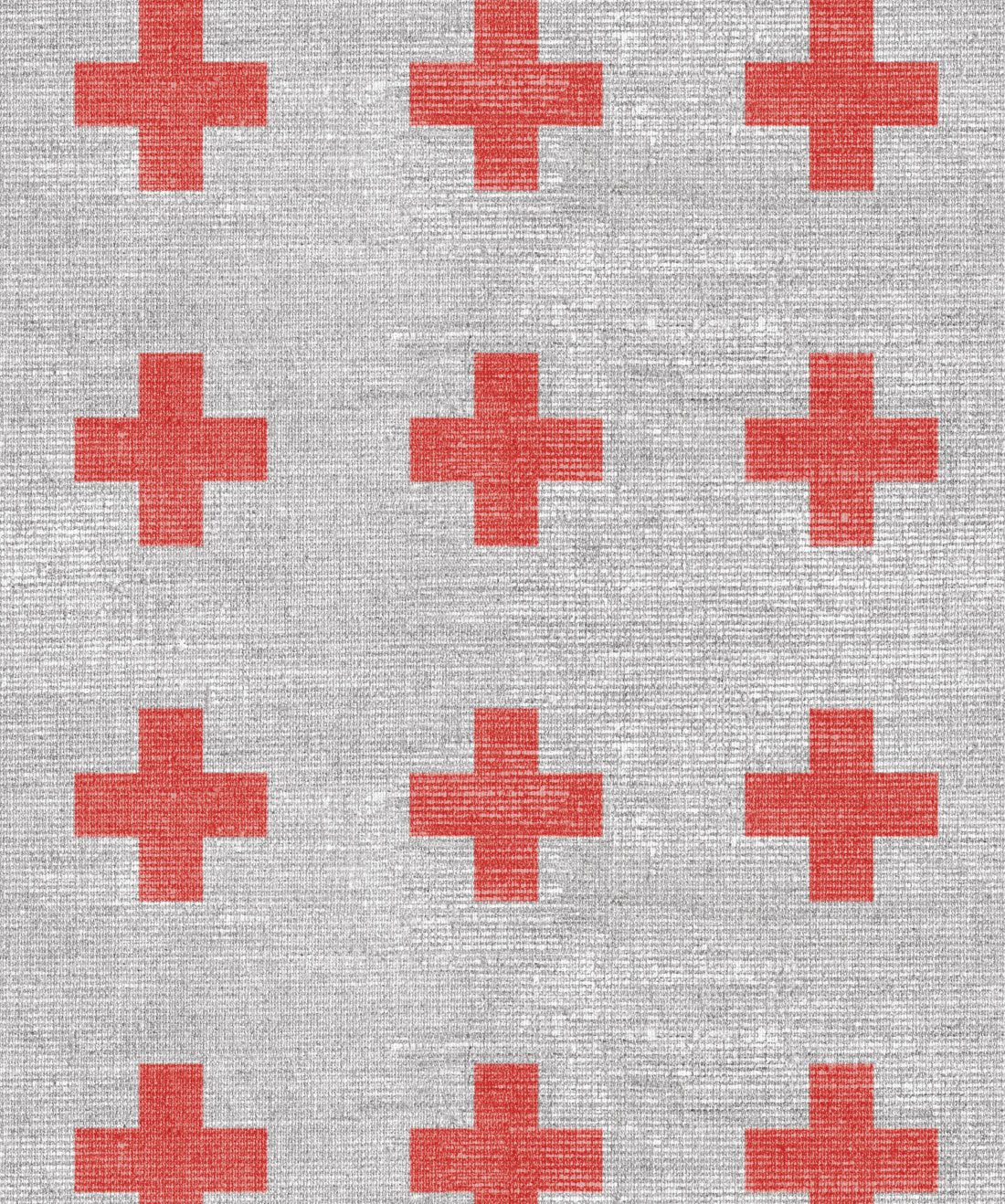 Swiss Linen Red