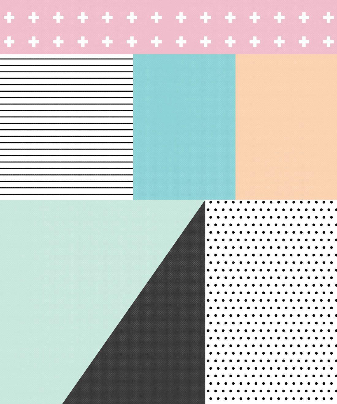 Sentiments Pastel Wallpaper