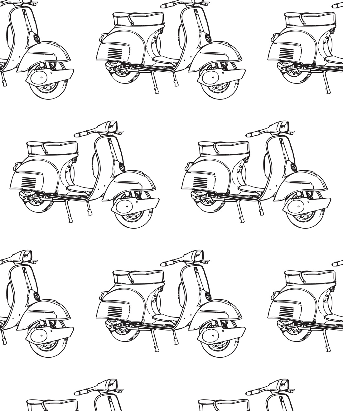 Scooters Wallpaper
