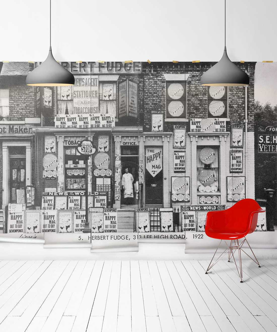 Herberts Off Licence Mural