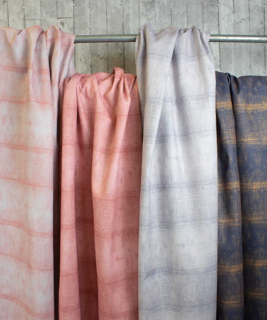 Layered Boho Fabric