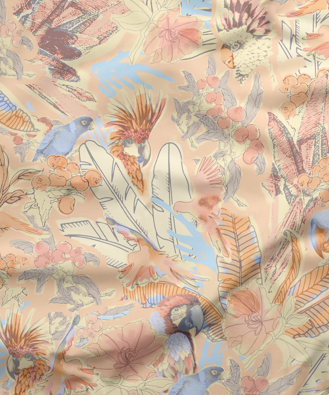 Haititreehouse Fabric