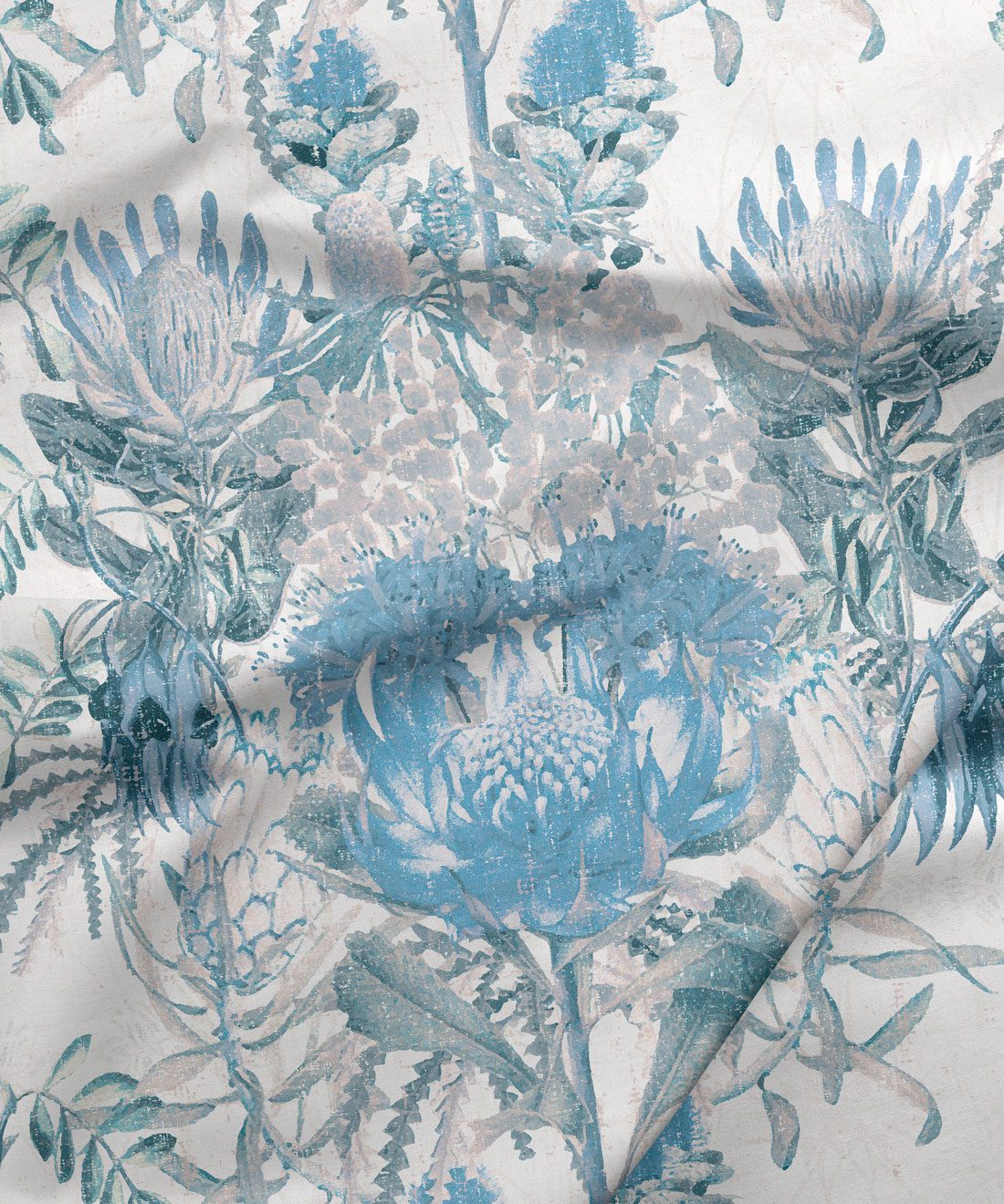 Wild Flowers Blue