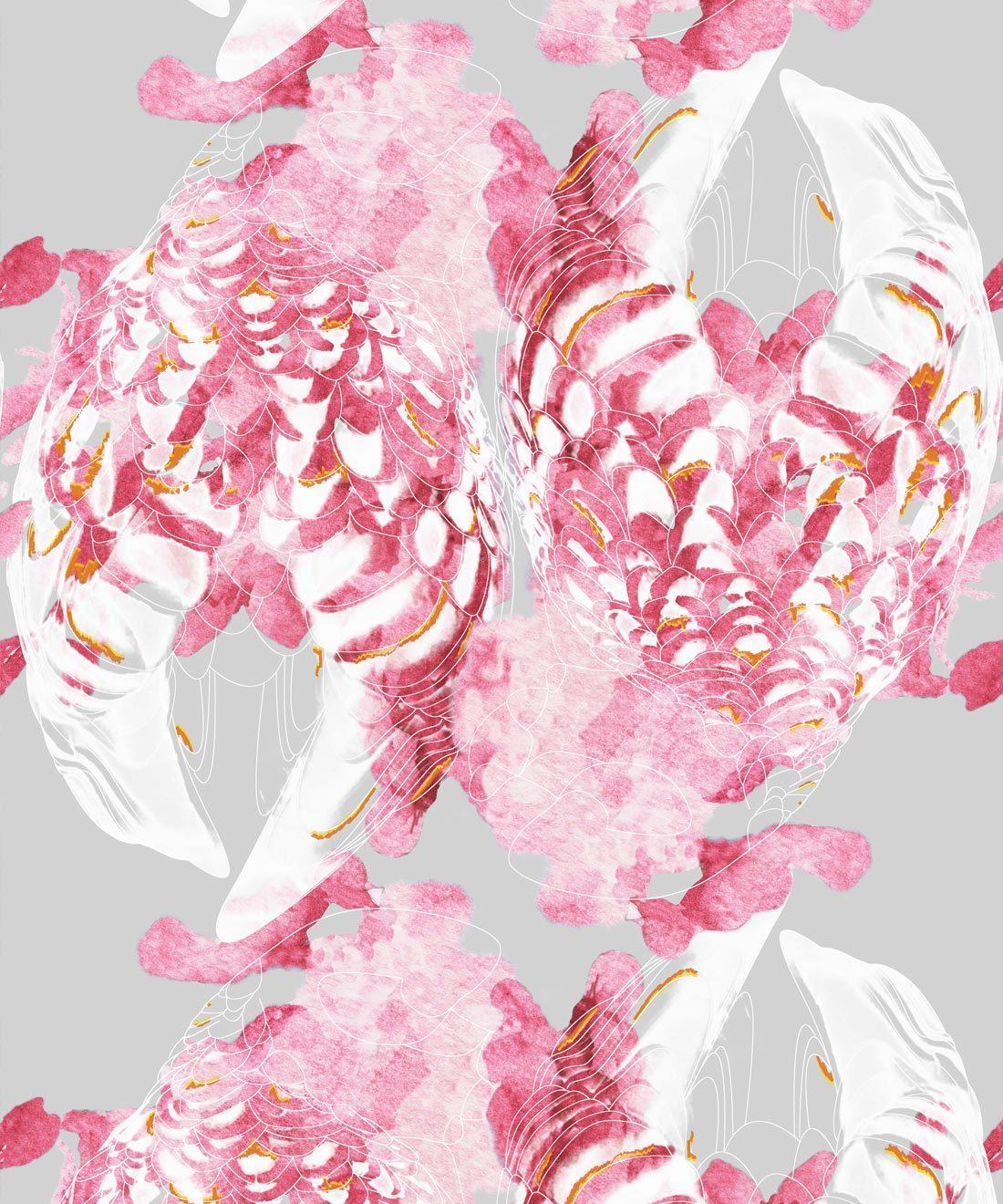 Kandos Mulberry Wallpaper