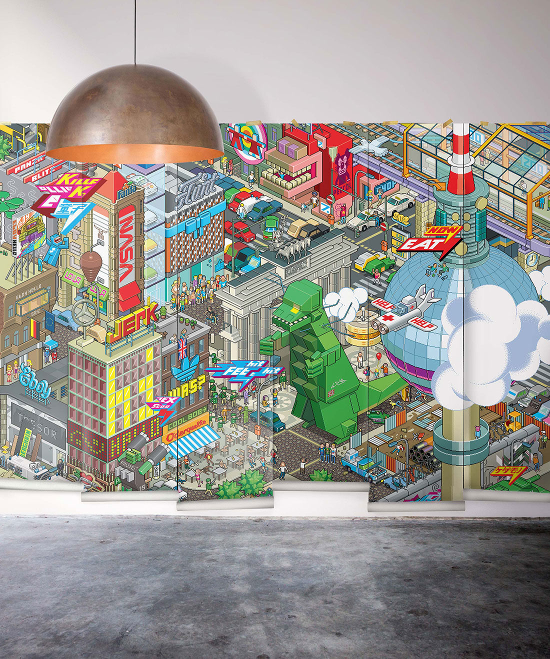 Berlin eBoy Mural