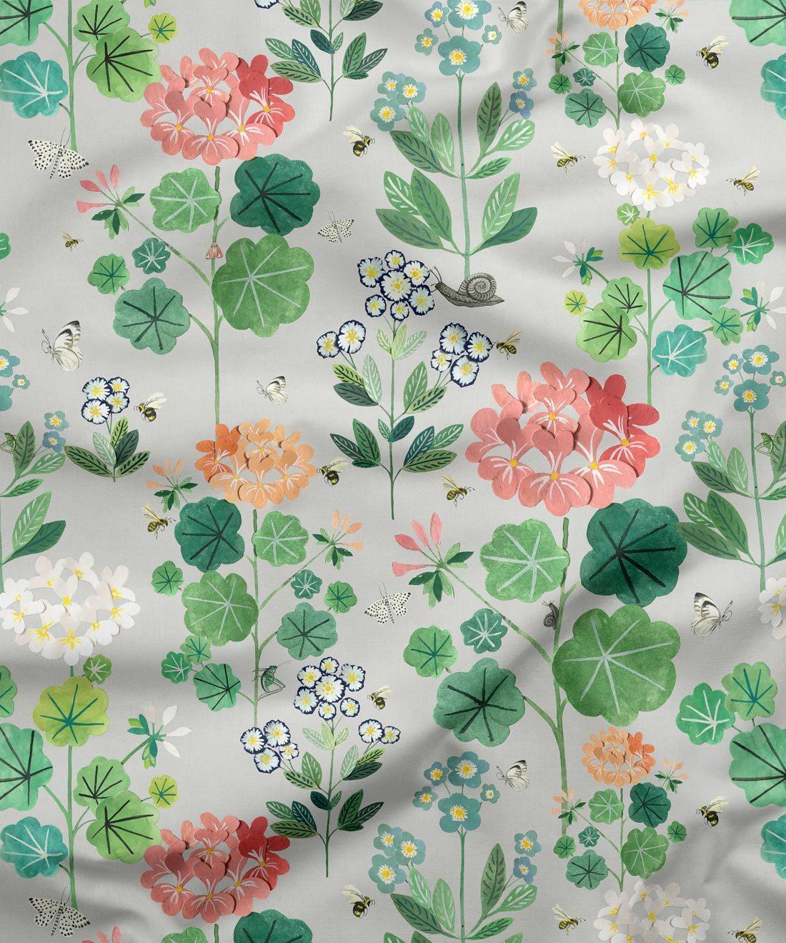Sophie's Garden Fabric Cream