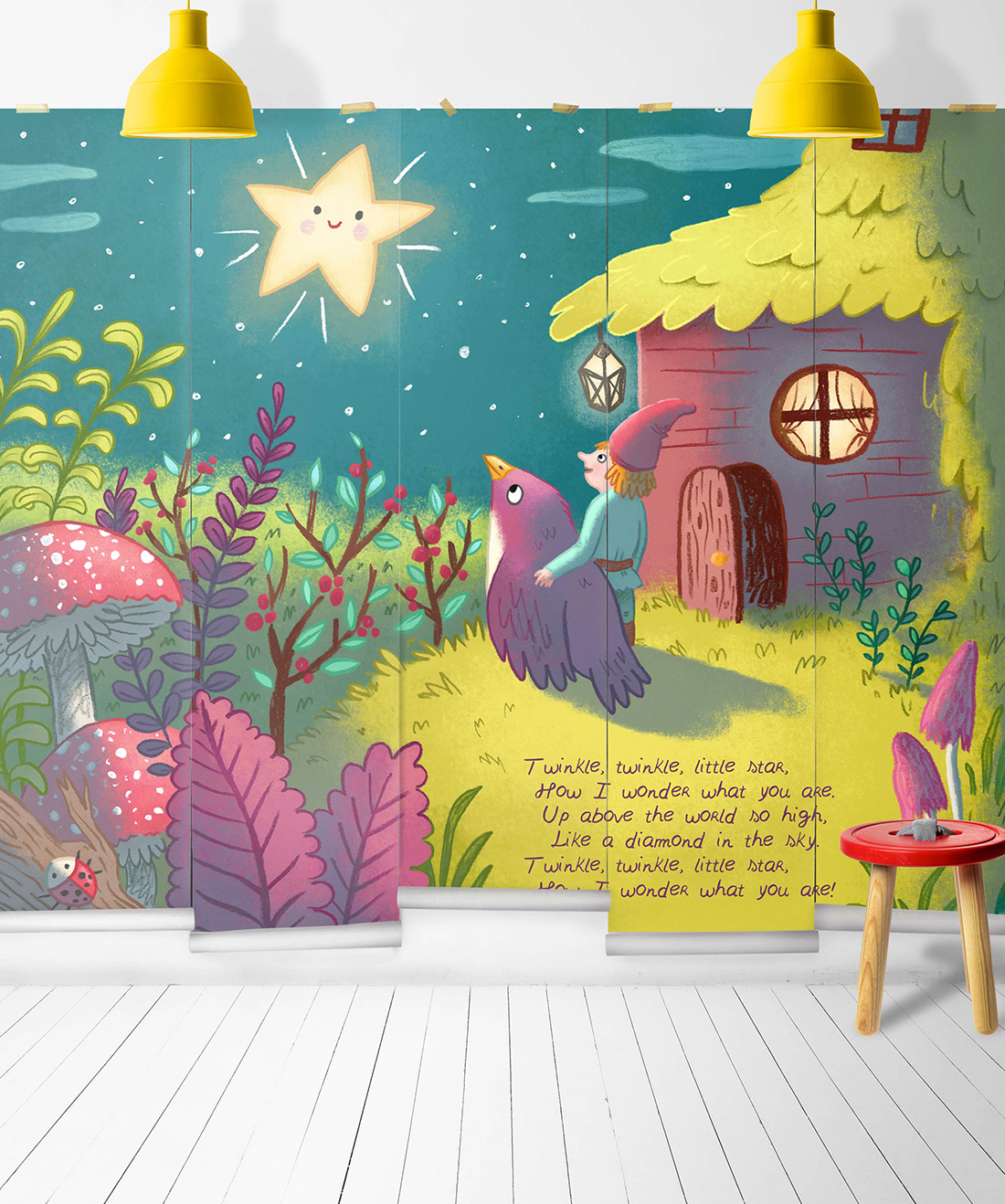 Twinkle Twinkle Mural