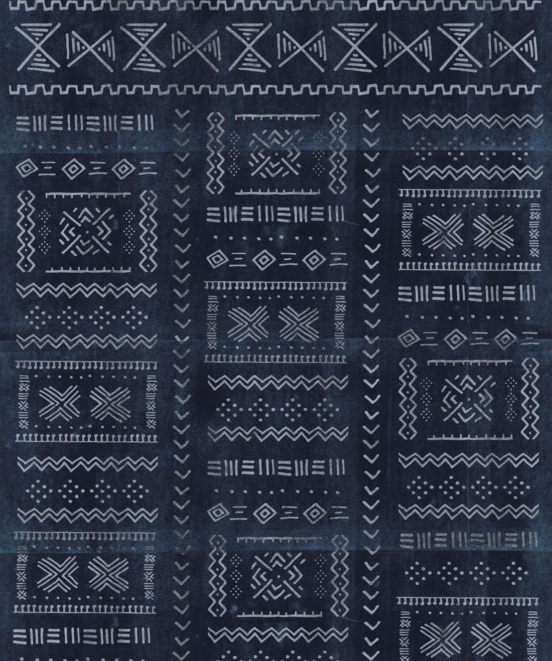 Tribal Mud Wallpaper