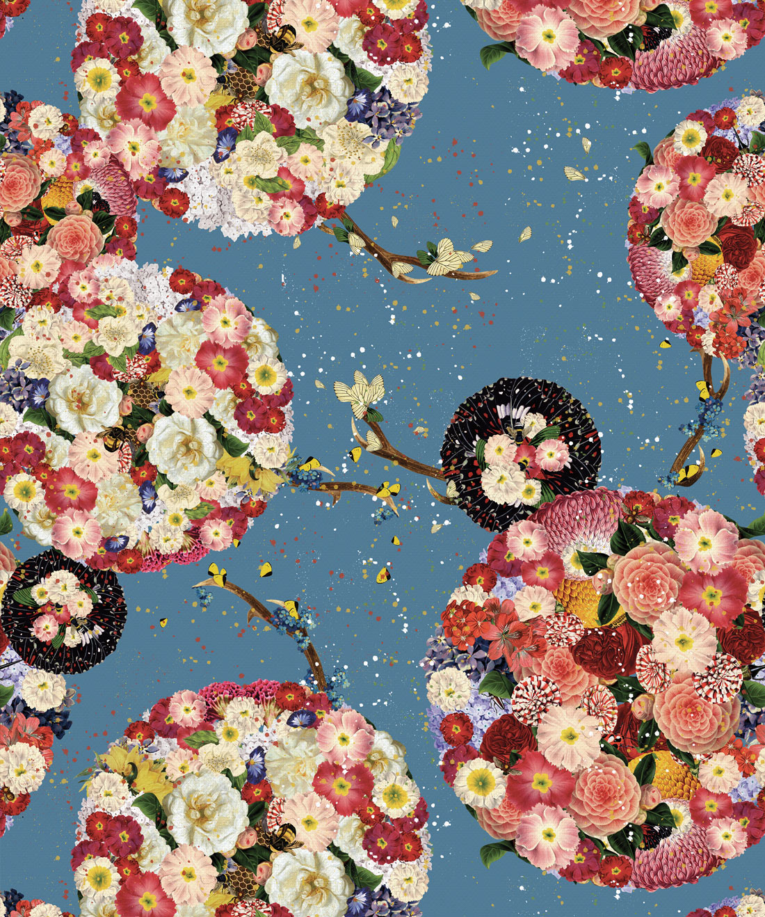 Flower Bomb Wallpaper