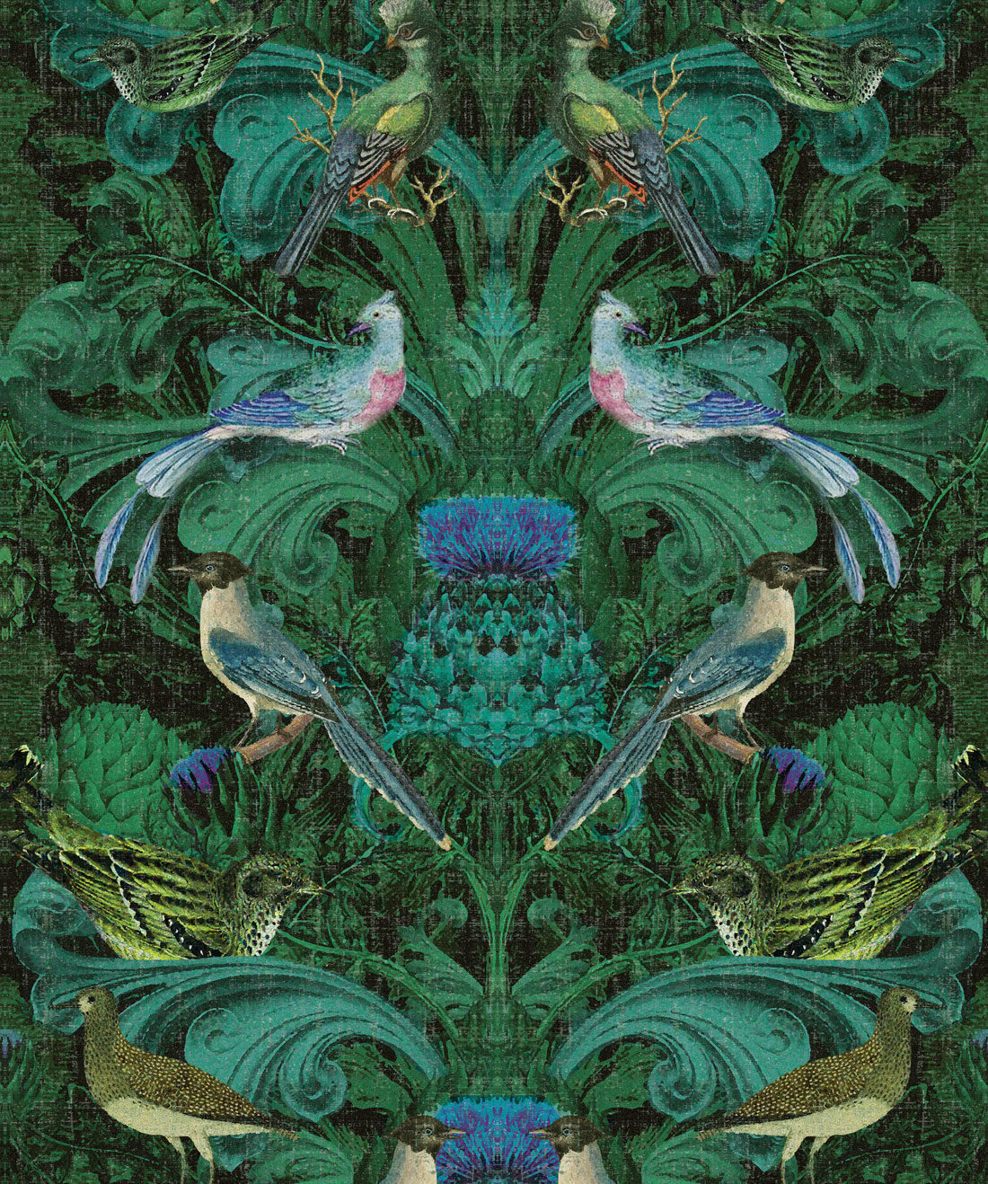 Simcox - Birdlife Wallpaper