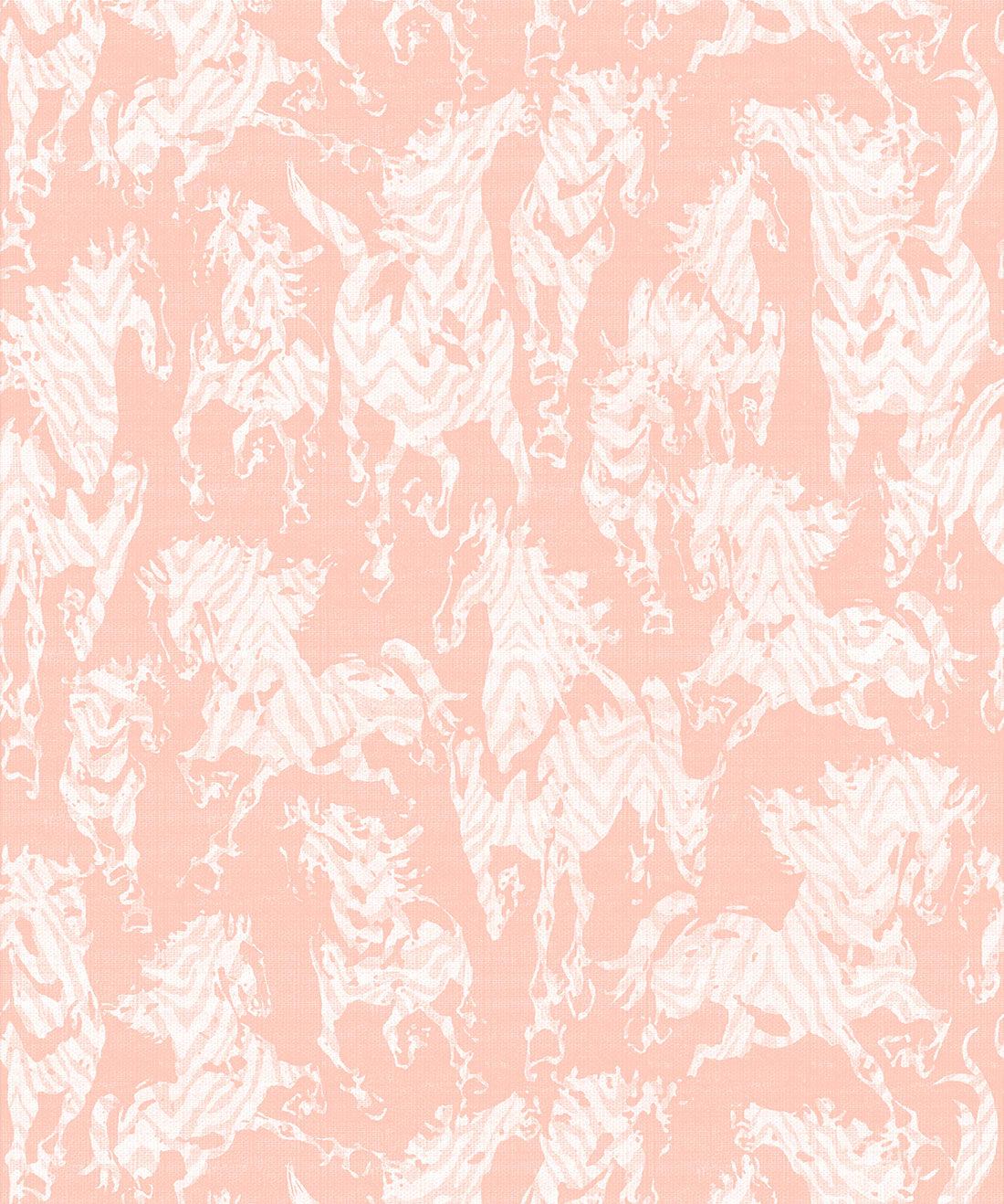 Sixhands - Stampede Wallpaper / Terracotta