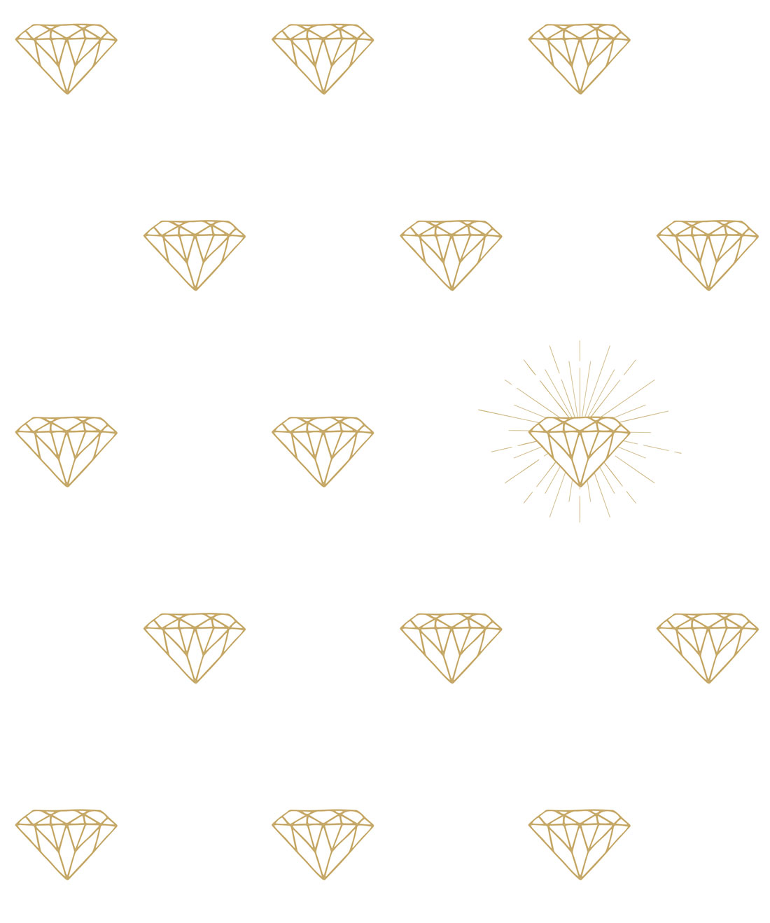 Gold Diamonds Wallpaper