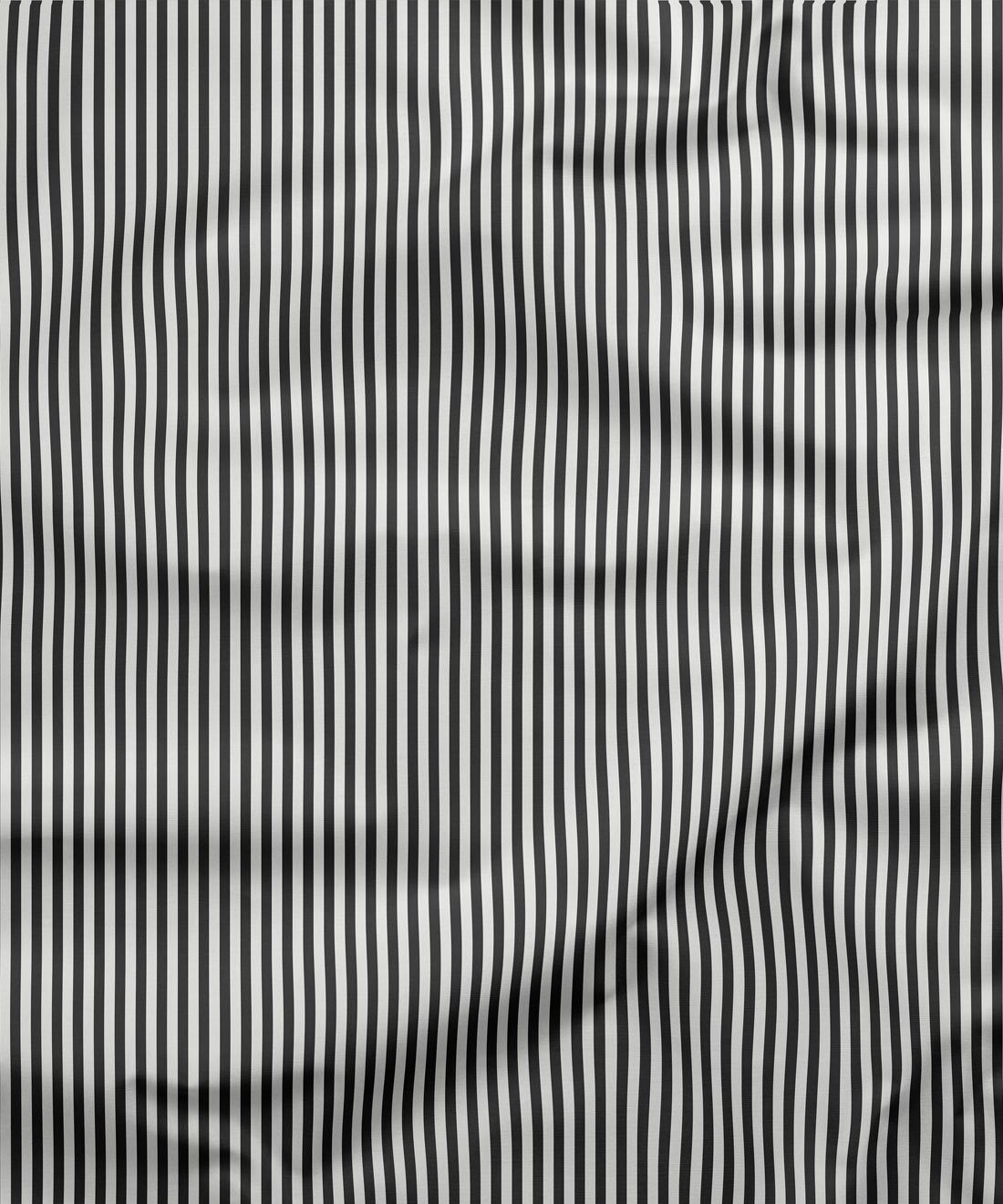 Candy Stripe Charcoal Fabric