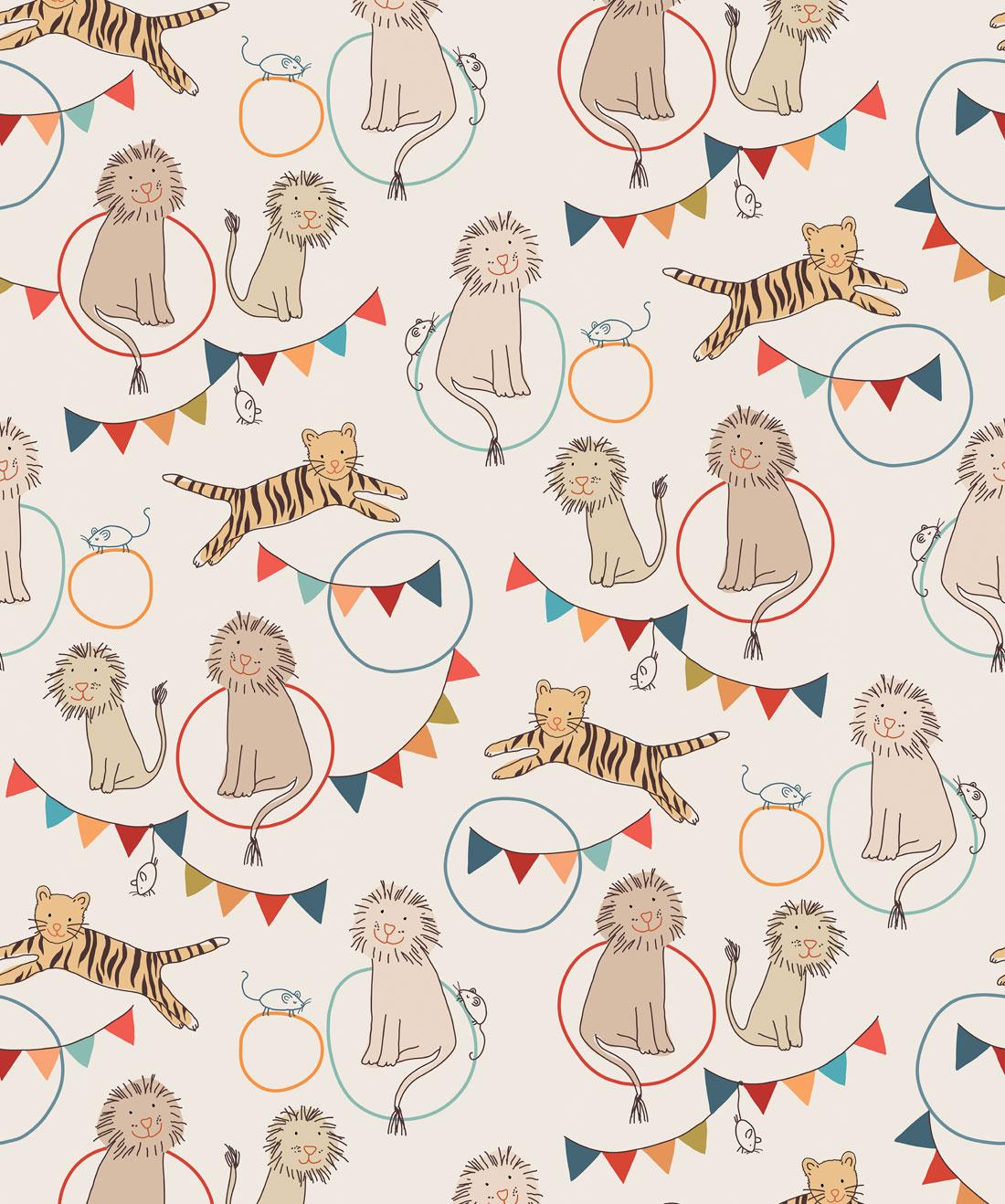 Lions & Tigers Wallpaper