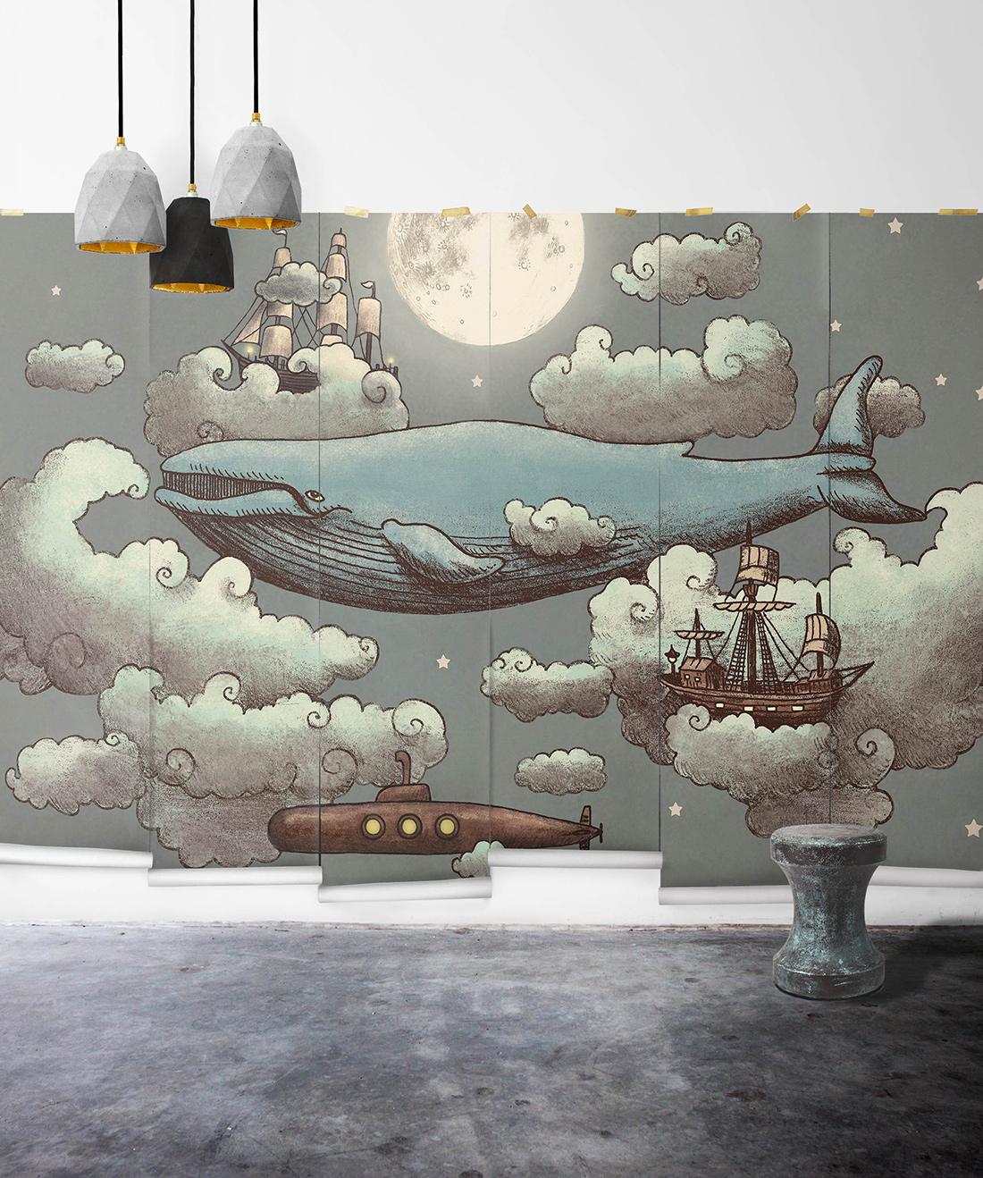 Ocean Meets Sky Mural