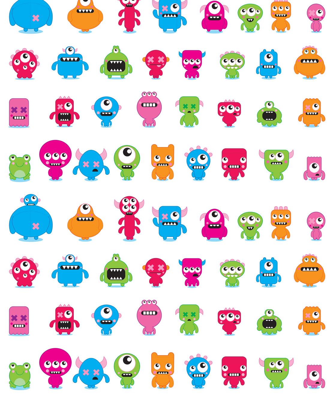 Monsters Wallpaper
