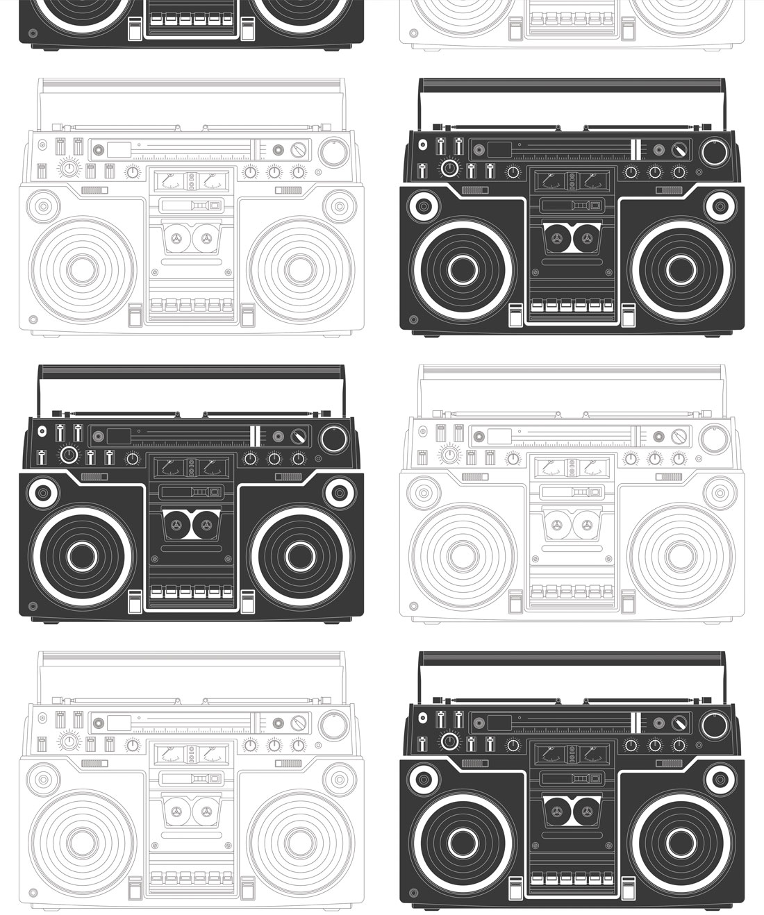 Boom Box Wallpaper