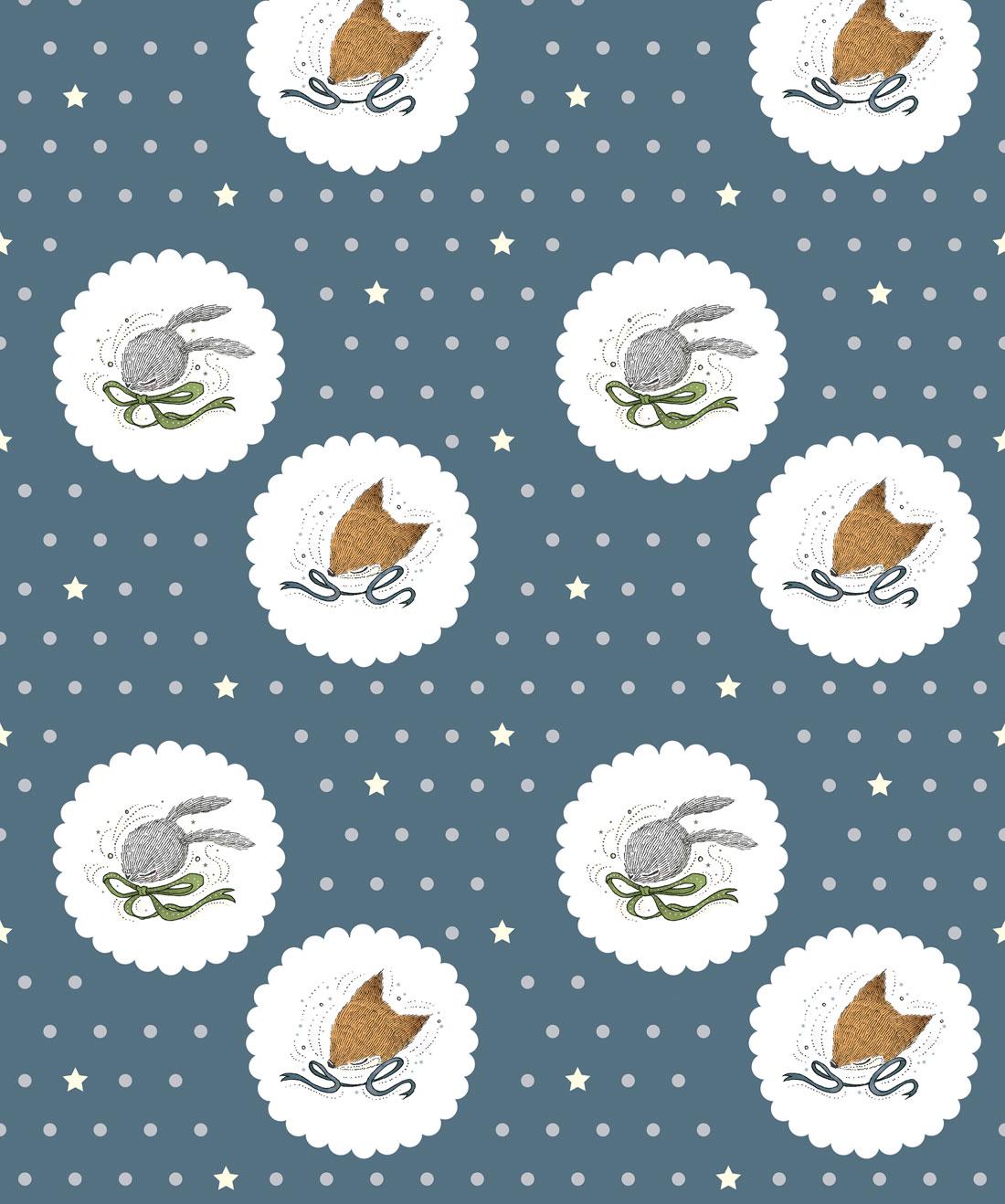 Fox & Rabbit Wallpaper