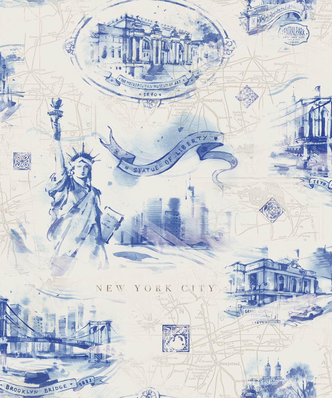 New York Monuments Wallpaper
