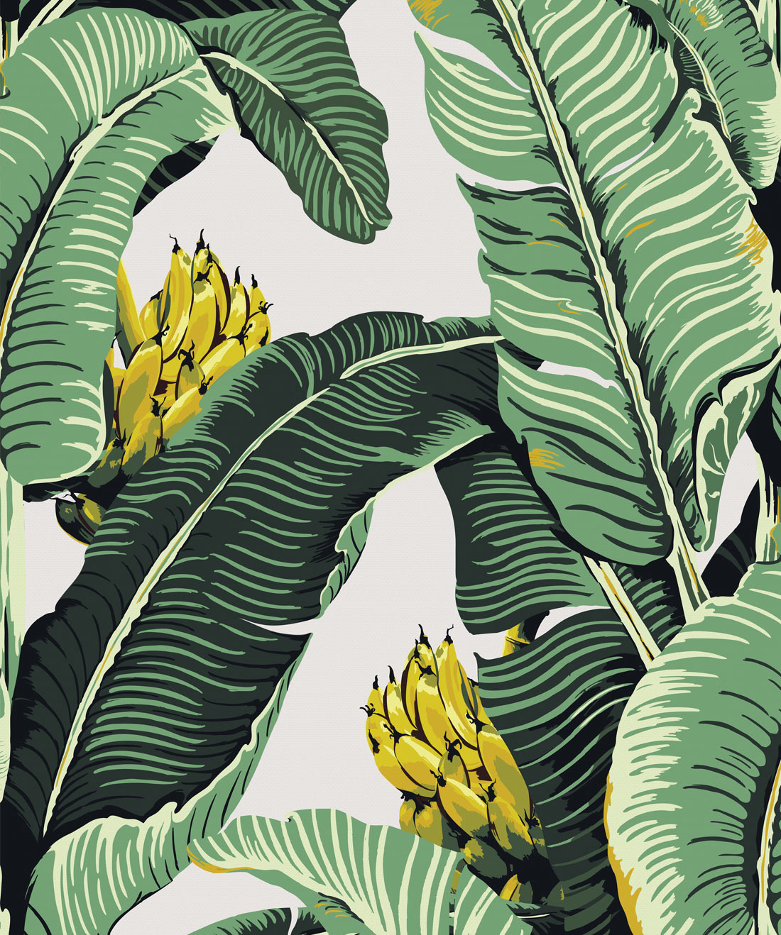 Jungle Palm Wallpaper (Two Rolls)