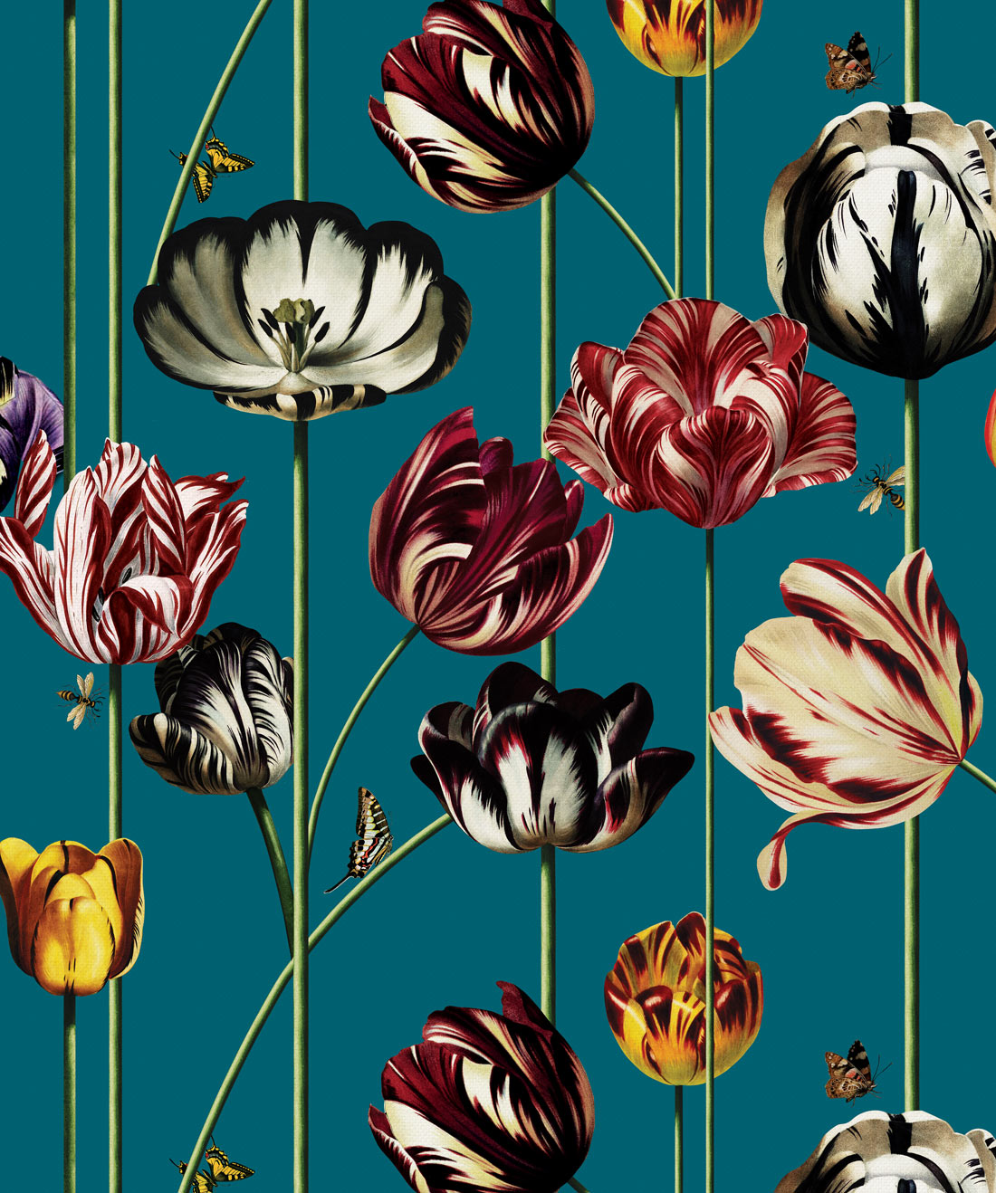 Tulipa Wallpaper (Two Rolls)
