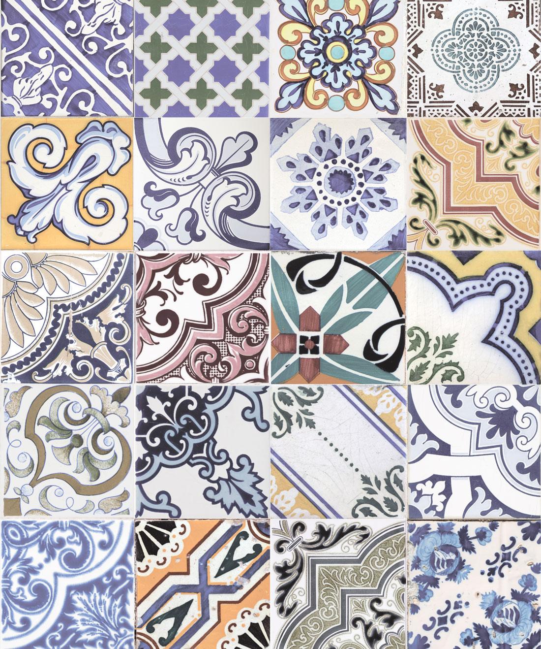Federation Tiles Wallpaper