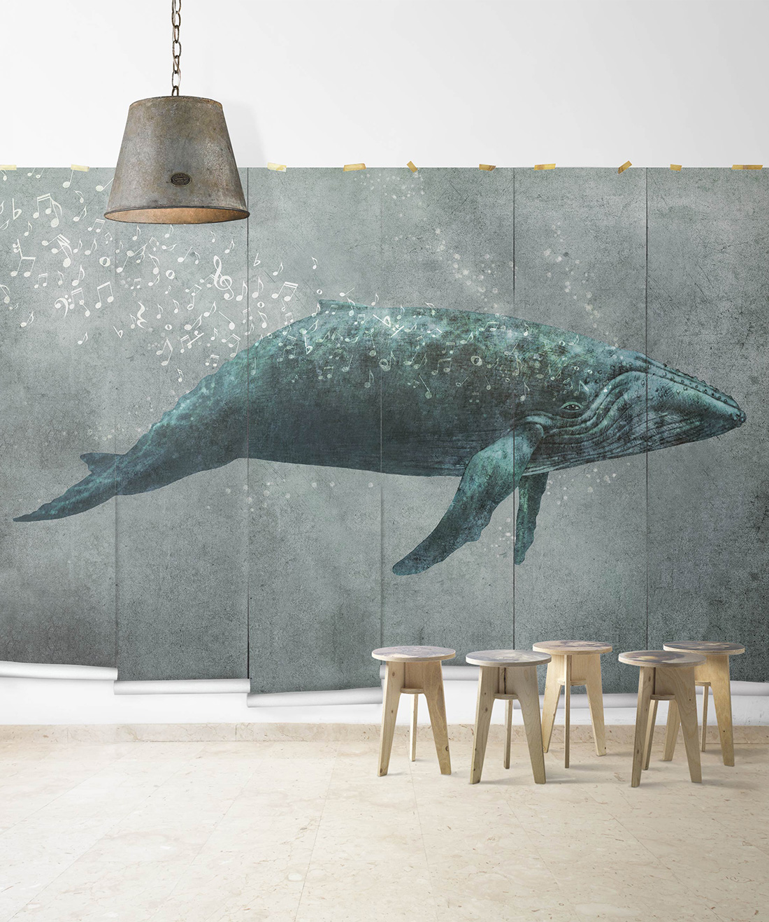 Whale Song Mural