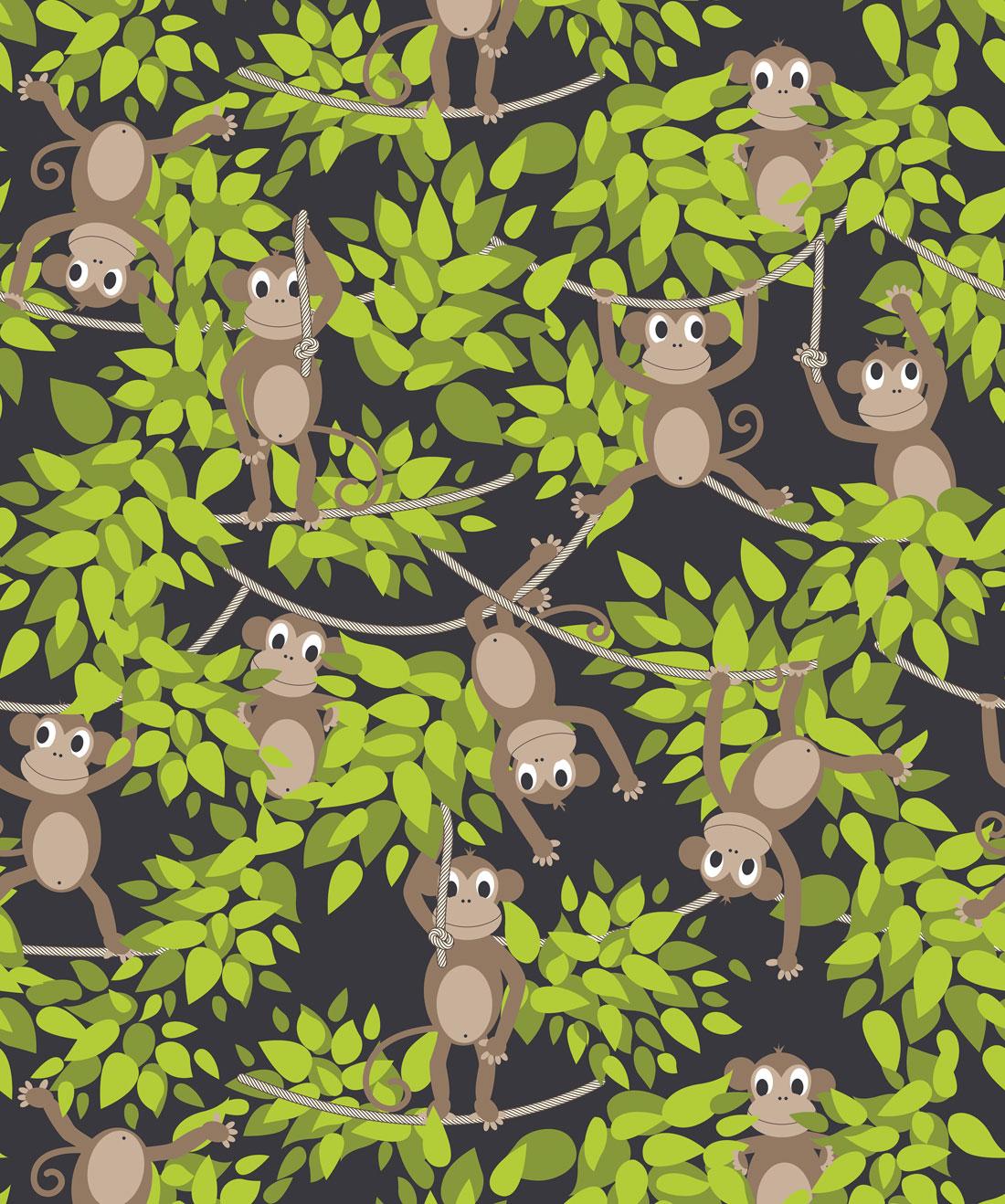 Monkey Wall Wallpaper