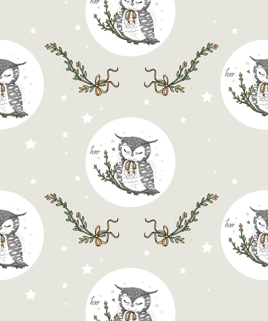 Owl Moon Wallpaper