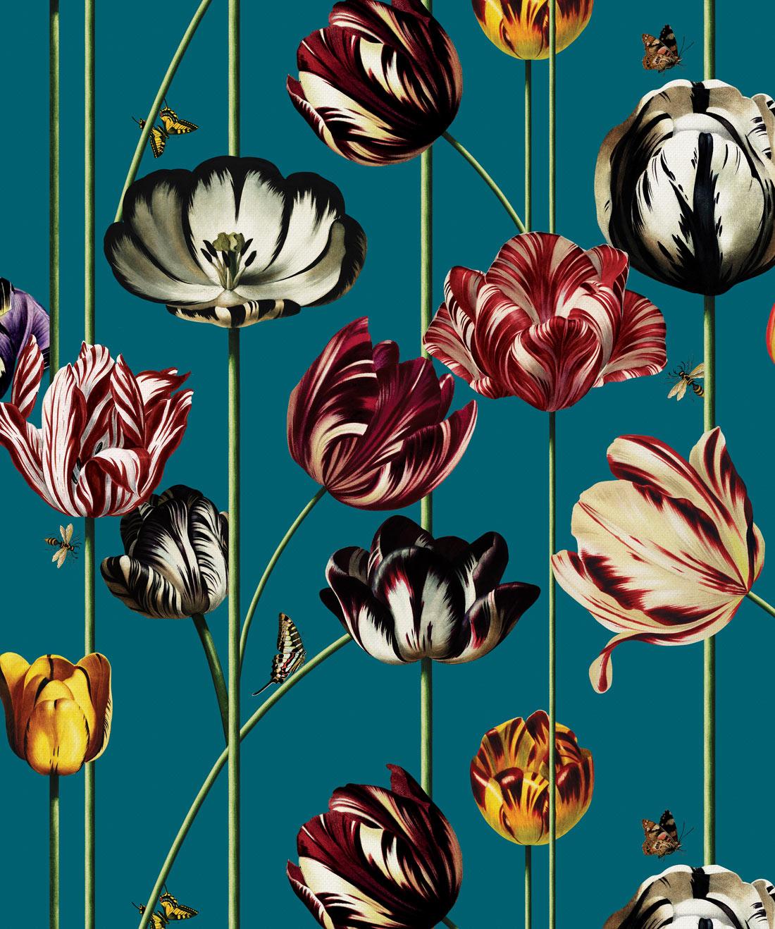Tulipa Wallpaper (Two Roll Set)