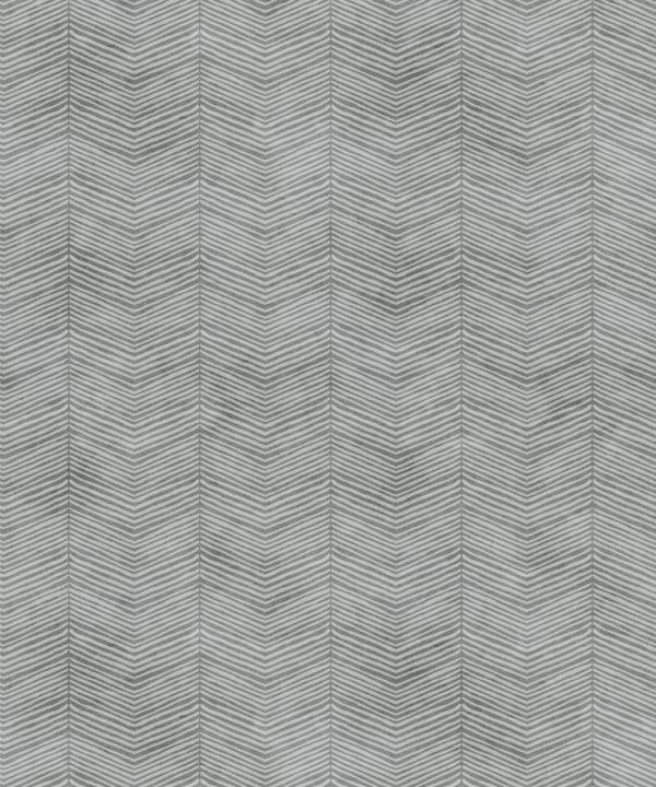 Stone Herringbone Wallpaper